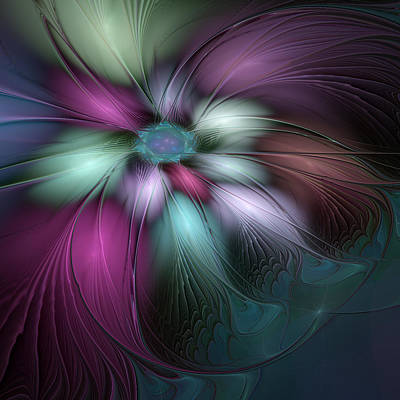 Digital Art - Soft And Colorful by Gabiw Art