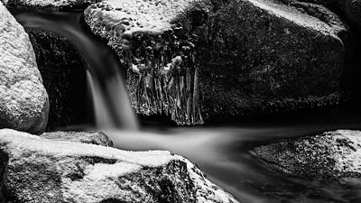 soft and sharp at the Bode, Harz Art Print