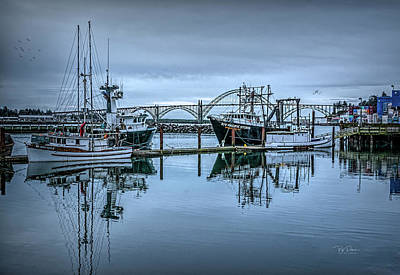Photograph - Soft Bay by Bill Posner
