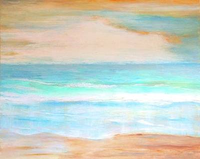 Painting - Soft Beachy Feel Abstract by Carlin Blahnik
