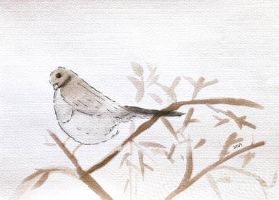 Painting - Soft Bird by Maura Satchell