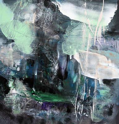 Soft Cosmic Light Mindscape Dreamscape By Master Kloska Diaphane Romantic Landscape Abstract About L Original