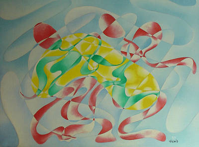Painting - Soft Dance by Genio GgXpress