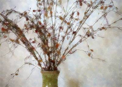 Digital Art - Soft Dried Flowers by Ellen Barron O'Reilly