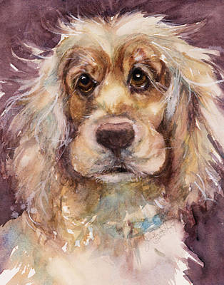 Haynes Painting - Soft Eyes by Judith Levins