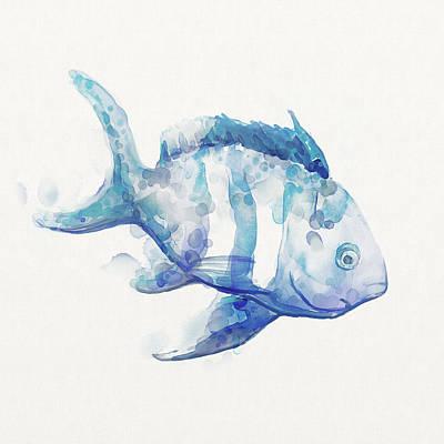 Unique Tropical Fish Watercolor Paintings   Fine Art America