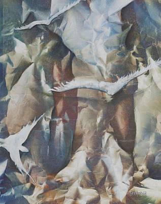 Painting - Soft Flight by Jan VonBokel