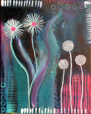 Painting - Soft Flowers by Alexandra Schumann