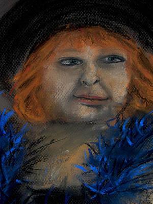 Pastel - Soft Heart by Barbara J Blaisdell