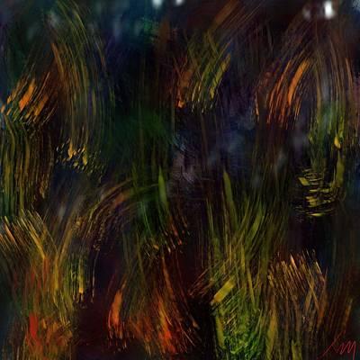 Digital Art - Soft Light In The Marsh by Bill Minkowitz