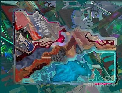 Digital Art - Soft Machine by T Bork