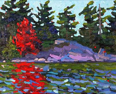 Garth Brooks Painting - Soft Maple by Phil Chadwick