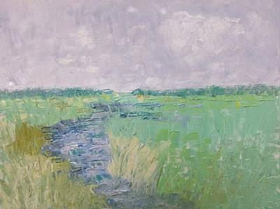 Soft Marsh Art Print