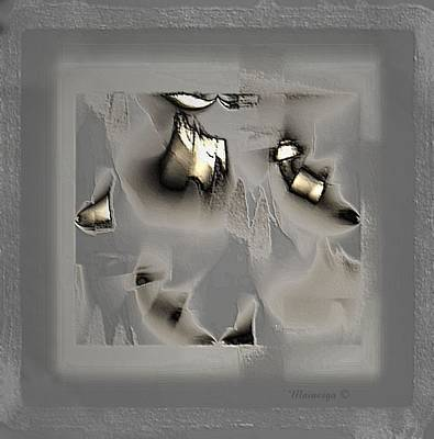 Digital Art - Soft Metal by Ines Garay-Colomba