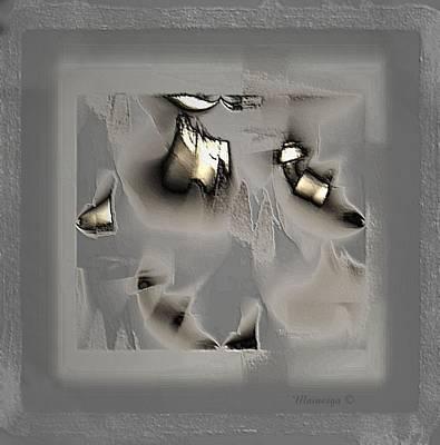 Digital Art - Soft Metal by Ines Garay-Colomba