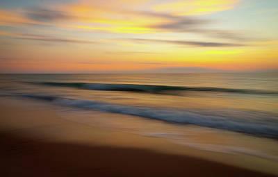 Beach Photograph - Soft Ocean Waves by R Scott Duncan