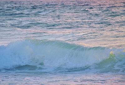 Soft Oceans Breeze  Art Print by E Luiza Picciano