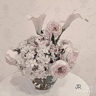 Photograph - Soft Pink Bouquet by Jeannie Rhode