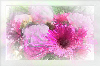 Photograph - Soft Pink Gerbera by Natalie Rotman Cote