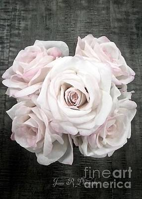 Photograph - Soft Pink Rose Bouquet by Jeannie Rhode