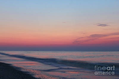 Photograph - Soft Pink Sunrise by Jeff Breiman