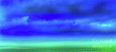 Summer Squall Photograph - Soft Rain by Jim Kayalar