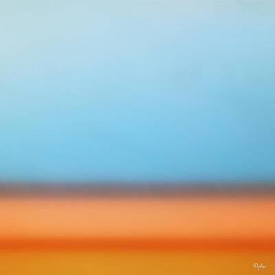 Digital Art - Soft Seashore by Paulette B Wright