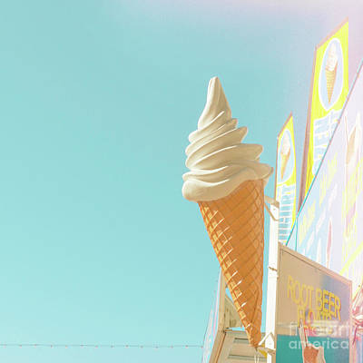 Art Print featuring the photograph Soft Serve by Cindy Garber Iverson