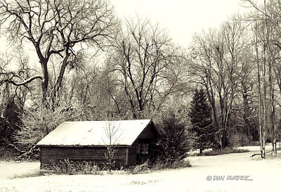 Photograph - Soft Snow Cover by Don Durfee