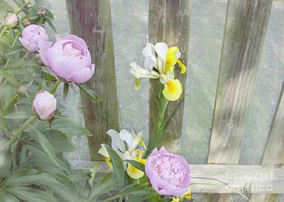 Soft Summer Flowers Art Print