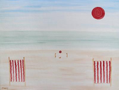 Soft Summer Memories Art Print
