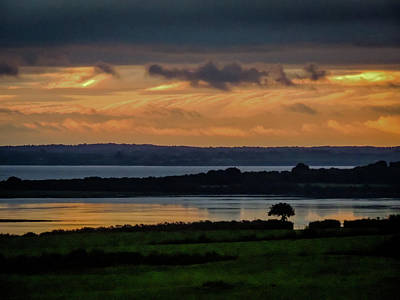 Photograph - Soft Sunrise Over Shannon Estuary by James Truett