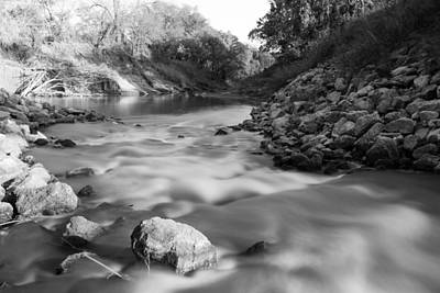 Photograph - Soft Water Down The Creek by Nathan Hillis