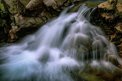 Photograph -  Soft Water by Sherman Perry