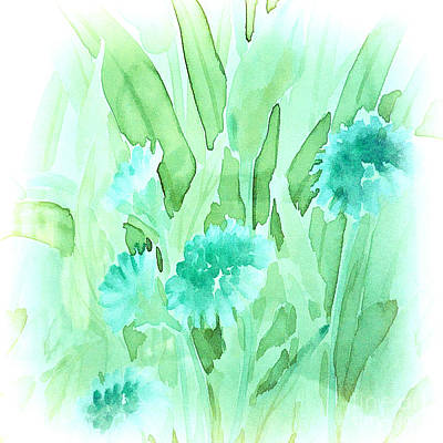 Painting - Soft Watercolor Floral by Judy Palkimas