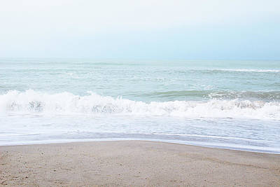 Miami Mixed Media - Soft Waves 2- Art By Linda Woods by Linda Woods