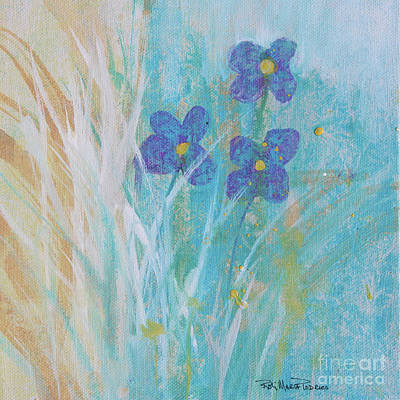 Painting - Soft Wild Flowers by Robin Maria Pedrero