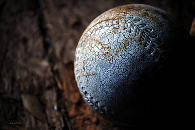 Photograph - Softball Smudge Of History by Lesa Fine