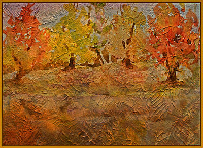 Painting - Softly Falling Leaves by Mindy Newman