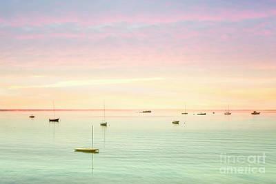 Cape Cod Sunset Photograph - Softness And Light by Evelina Kremsdorf