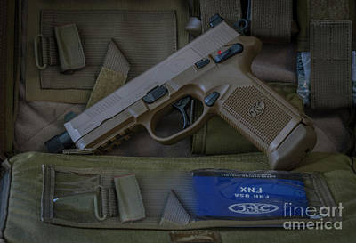 Photograph - 45 Acp  Tactical  by Dale Powell
