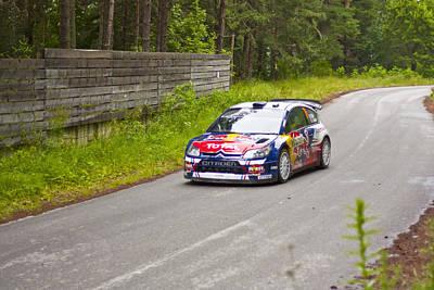 World Rally Championship Photograph - S.ogier J.ingrassia by Boyan Dimitrov