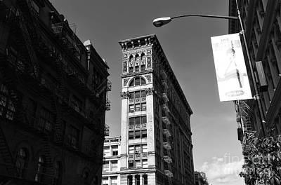 New York City Photograph - Soho Design Mono by John Rizzuto