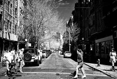 Photograph - Nolita Walk by John Rizzuto