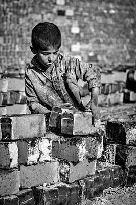 Child Photograph - Soil And Bread by Mohammadreza Momeni