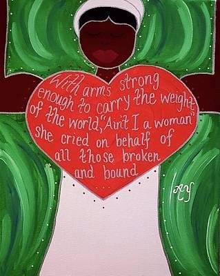 Sojourner Truth Original by Angela Yarber