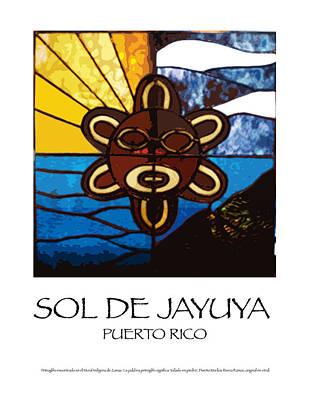 Sol De Jayuya Print by Marilou Rivera-Ramos
