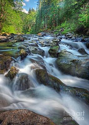Photograph - Sol Duc Falls by Martin Konopacki