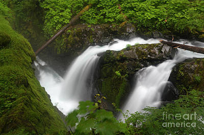 Photograph - Sol Duc Surge by Mike Dawson