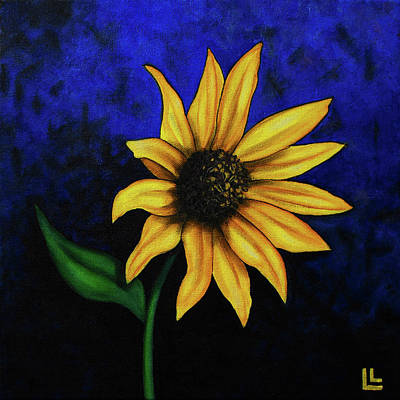 Painting - Sol Flower by Lindi Levison
